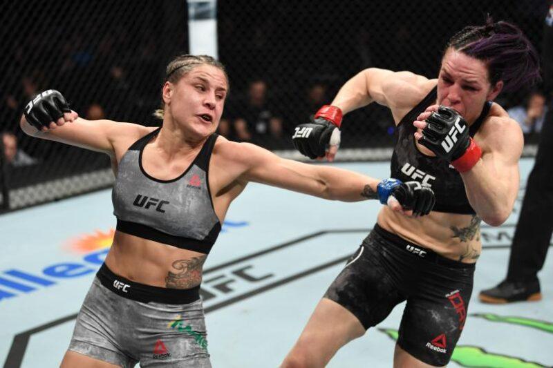Joanne Calderwood vs Jennifer Maia
