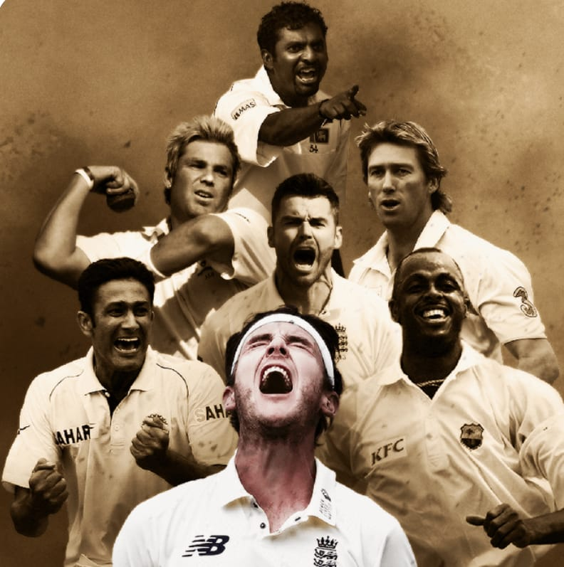 500 Test Wicket Takers