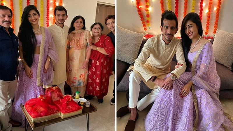 Yuzvendra Chahal- Family Picture