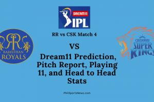 RR vs CSk Match