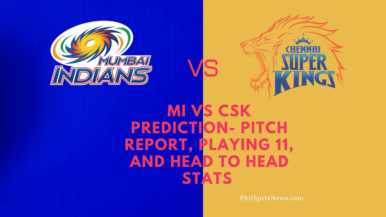 Mi vs CSK Prediction