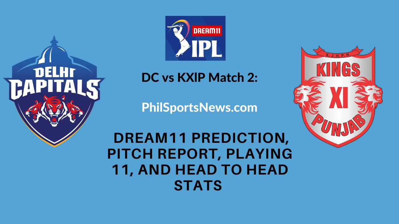 DC vs KXlP Match 2