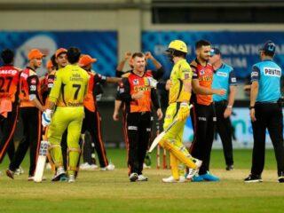 SRH vs CSK match